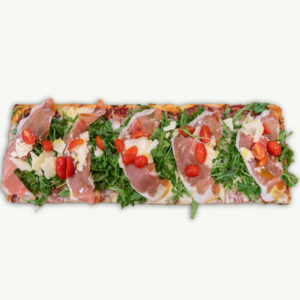 Pizza Siciliana Crudo - Filaga Pizzeria
