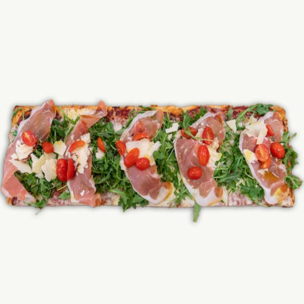 Pizza Siciliana Crudo - Filaga Pizzeria